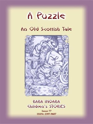 cover image of A PUZZLE--An Old Scottish Riddle